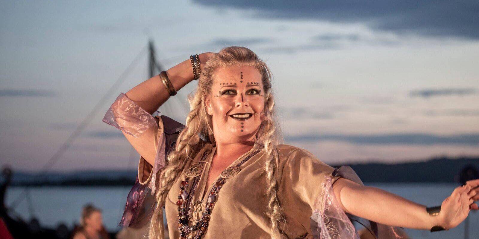 Vikingspel Foto: Lise Reng