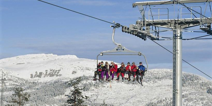 Vrådal Panorama Skisenter- 8 setter stolheis