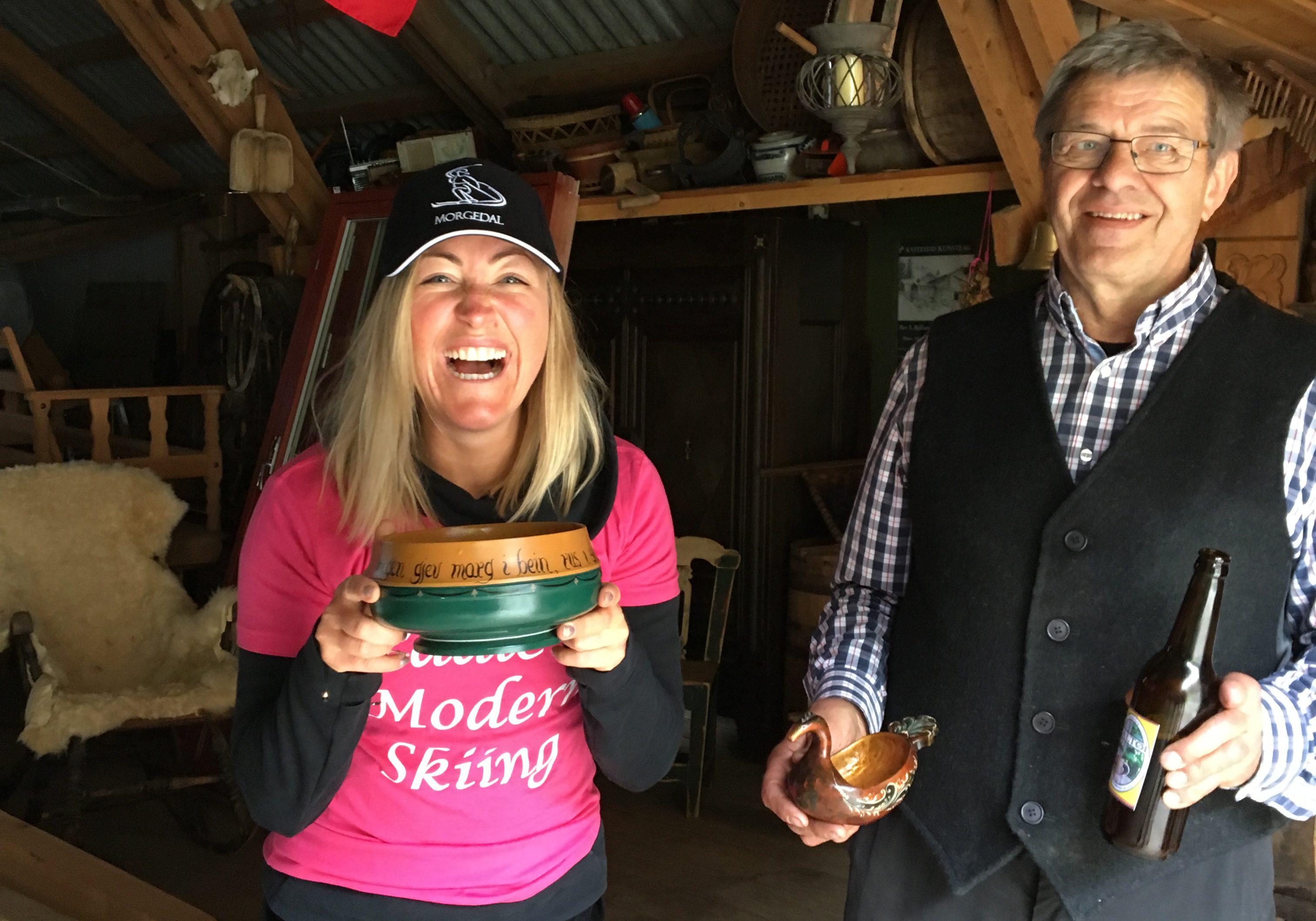På vei til Sondre Norheims stue traff jeg bonde Aslak, som ba meg på hjemmebrygget øl.