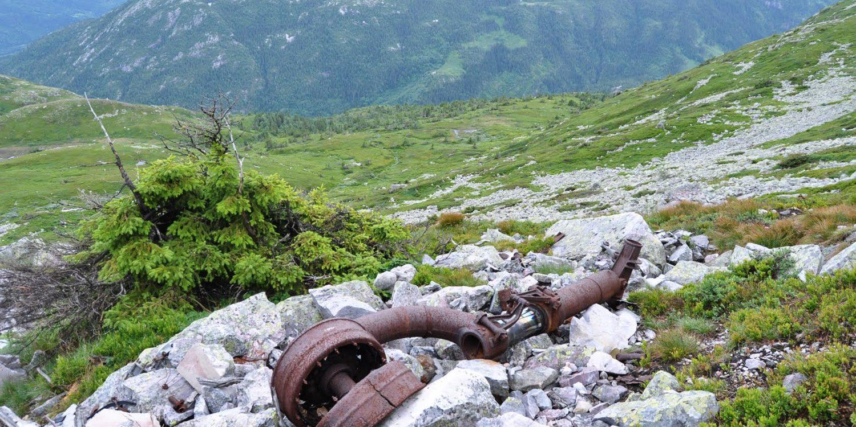 Rester fra det britiske flyvraket Liberator