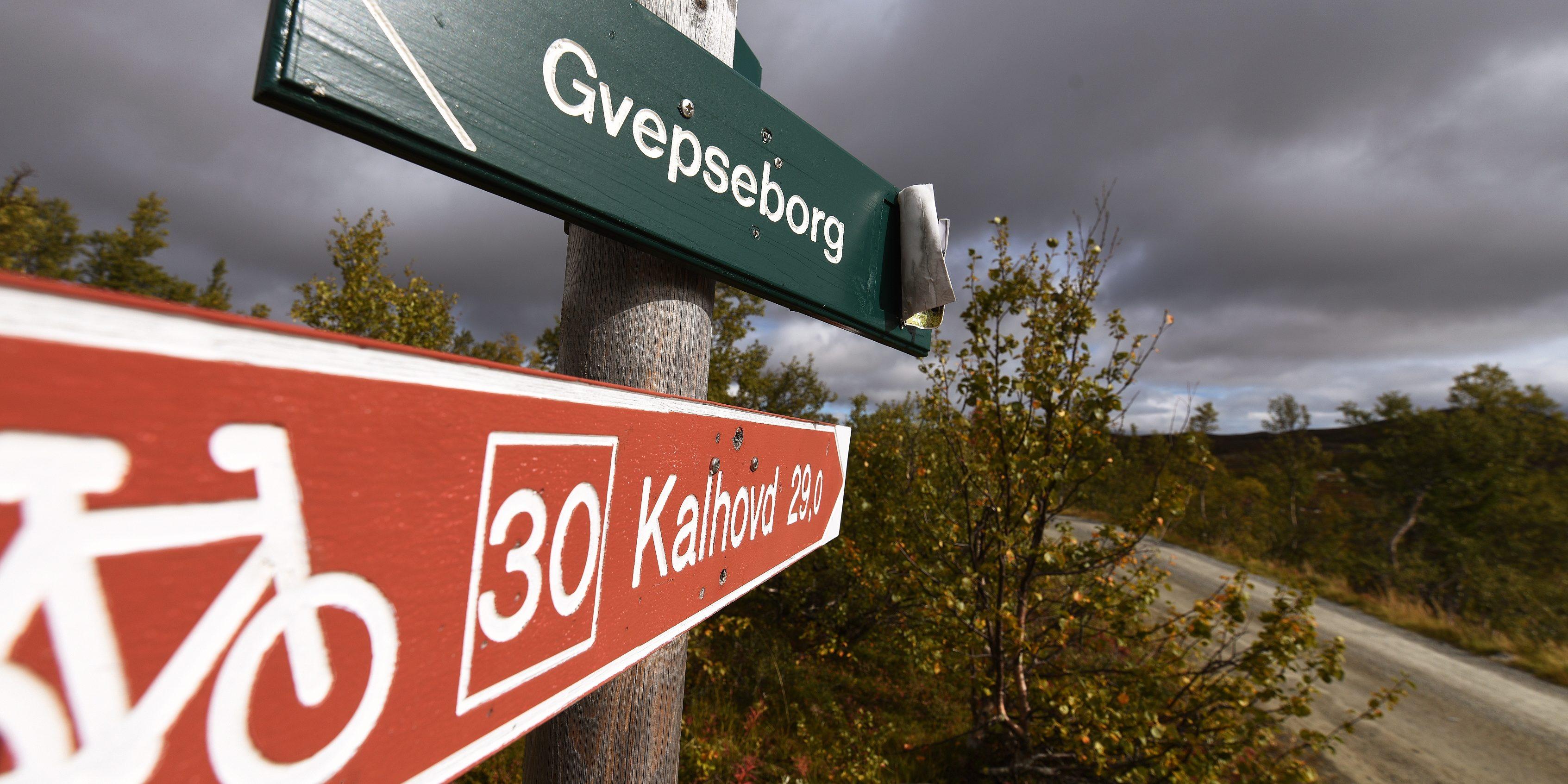 Sykkeltur til Kalhovd med oppstart fra Gvepseborg, Rjukan Foto: Bjørn Harry Schønhaug